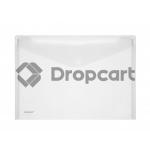 FolderSys enveloppentas A4 transparant