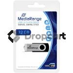 MediaRange USB-stick 32gb zwart