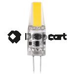 White label Dimbare G4 LED 6W, DC 12V warm wit 2800-3200 k
