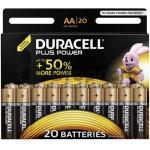Duracell Plus Power Duralock Alkaline AA 20-Pack