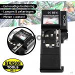 Benson Batterij, zekering en lamp tester 3-in-1