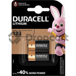 Duracell CR123 duo pack