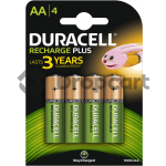 Duracell AA Rechargeable plus, 1300 mAh