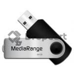 MediaRange USB flash drive 64GB zwart