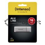 Intenso Alu Line USB stick 16GB zilver