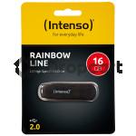 Intenso Rainbow Line USB Stick 16GB