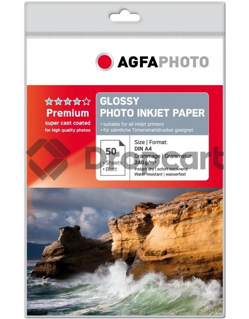 Agfa Fotopapier A4 Glossy 240 grams