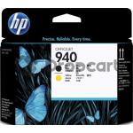 HP 940 printkop zwart en geel