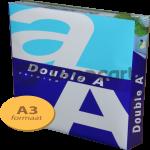 Double A Premium A3 papier 1 pak (80 grams) wit