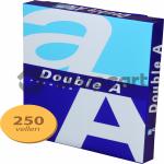 Double A Premium A4 Papier 250 vellen 1 pak (80 grams) wit