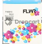 FLWR Dymo 40913 zwart (Huismerk)