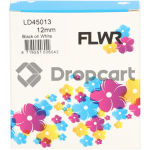 FLWR Dymo 45013 zwart (Huismerk)