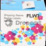 FLWR Dymo 99014 Adreslabel groot wit (Huismerk)