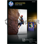 HP Advanced glanzend A6 25 vel wit