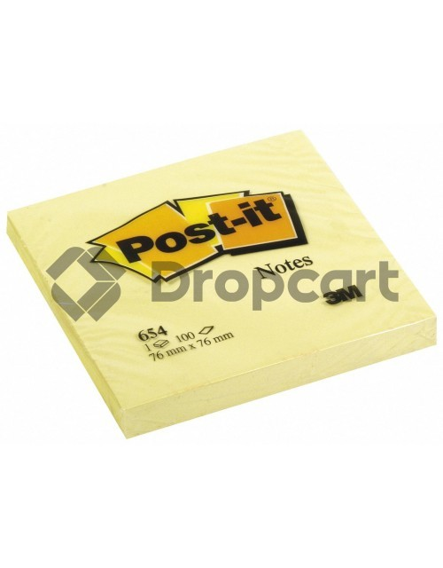 3M Post-it 76x76mm geel
