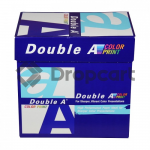 Double A Color print A4 Papier 5 pakken (90 grams) wit