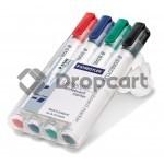 Staedtler Lumocolor whiteboard marker 351 assorti zwart en kleur
