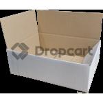 White label Postdozen Wit 400x270x150mm wit (Huismerk)