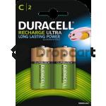 Duracell C HR14 Rechargeable 2 stuks, 3000 mAh