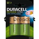 Duracell D Rechargeable HR20 2 stuks, 3000 mAh