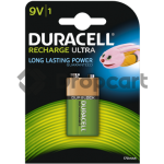 Duracell 9V Rechargeable HR22, 170 mAh