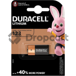 Duracell CR123 single pack