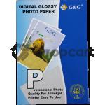G&G glossy photo papier 10x15 wit