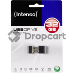 Intenso USB Drive 2.0 32 GB Micro Line zwart